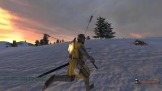 Mount & Blade Warband 1.168 - Test shot of Masterwork Siege Crossbow