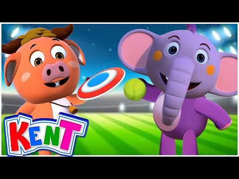 Kent The Elephant | Sport Song With Kent | Kids Songs And Much More