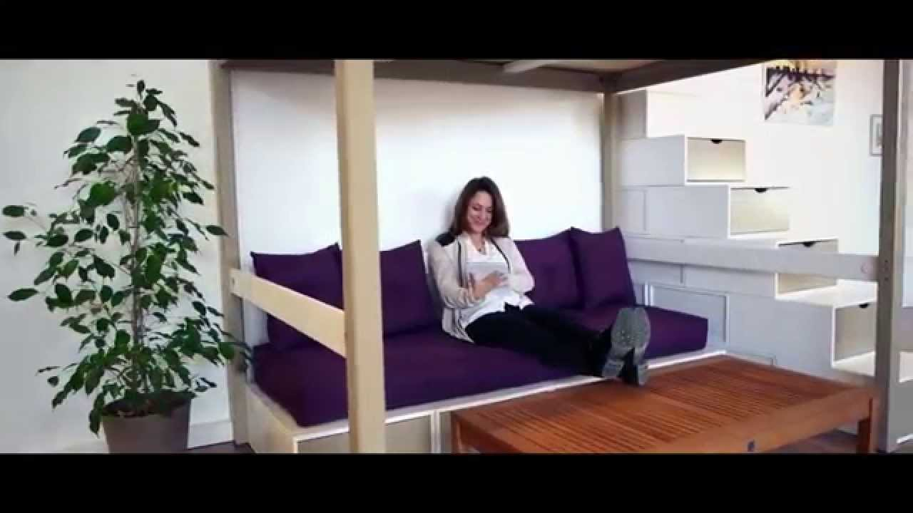 commandez sur abc mobilier fabriqu en france youtube. Black Bedroom Furniture Sets. Home Design Ideas