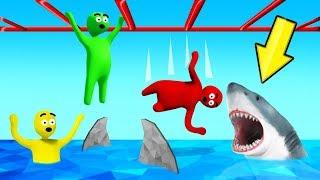 LET GO = Get EATEN By A SHARK! (Human Fall Flat)