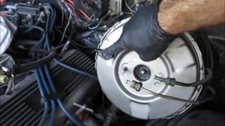Chevelle brake parts installation. Brake booster, master cylinder.