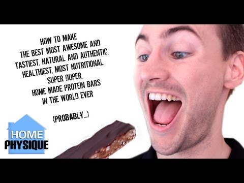 Bodybuilding Snack The Best and Most Authentic Home Made Protein Bars EVER  | High Protein Recipes