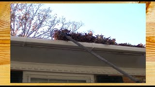 Keeping Your Gutters Clean With Your Feet On The Ground ~ Rick's Tips Diy