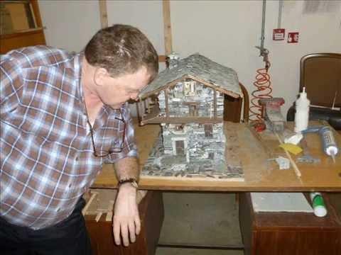 Casette e paesaggi miniatura in pietra doovi - Costruire case in pietra ...
