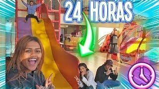 24 HORAS NA CASA DE FESTAS !!!