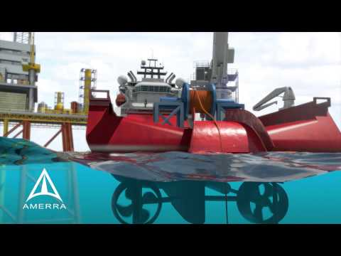 Deepwater Corrosion Services - Retrobuoy™ - 3D Oil & Gas Animation