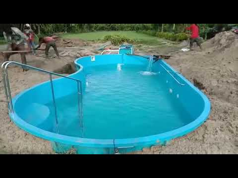 Readymade swimming pool in one day