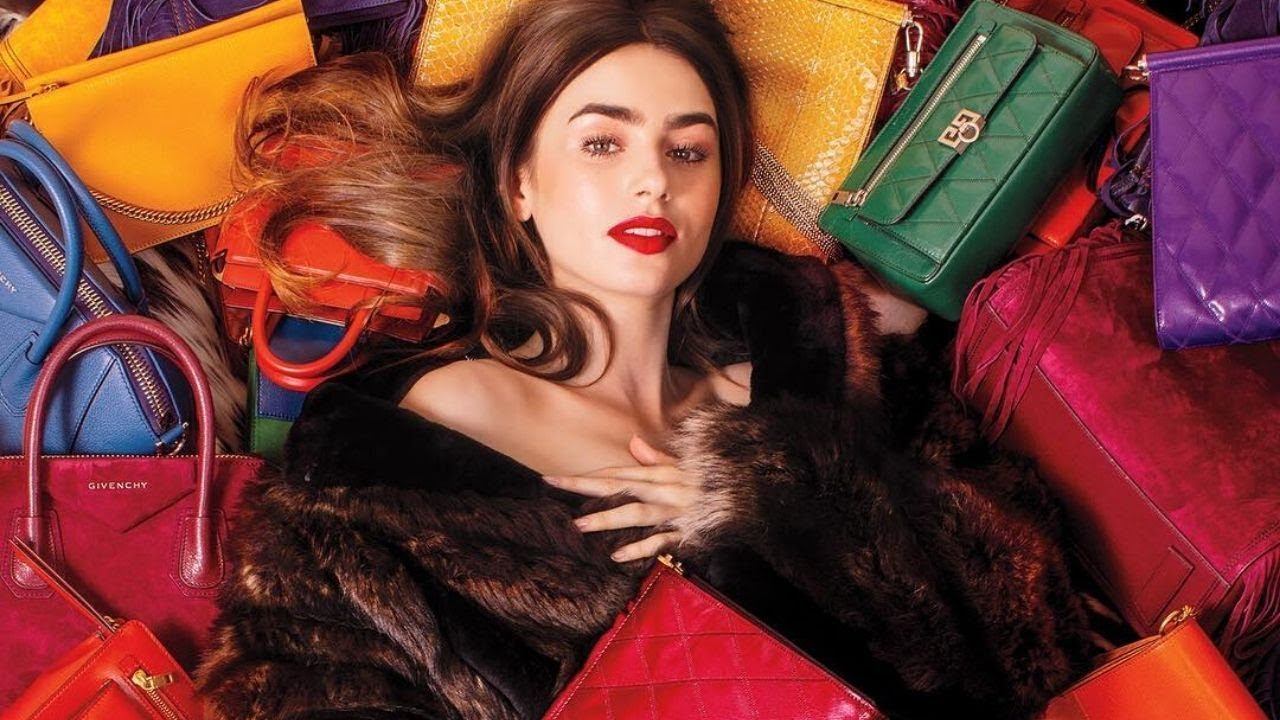 Model Lily Collins - Her Beauty and Style || Best attractive photo
