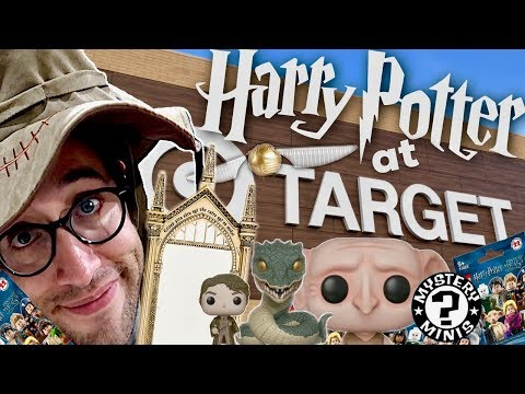 HARRY POTTER TARGET SHOPPING HAUL - FUNKO EXCLUSIVES, LEGO MINI FIGURES, AND LOADS MORE