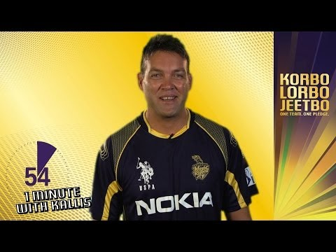 1 Minute With JACQUES KALLIS