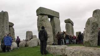 A walk around Stonehenge, 20th March, Spring Equinox 2017