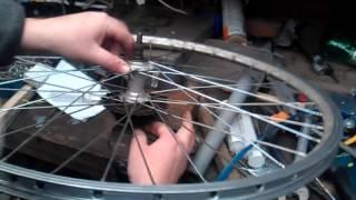 How to remove shimano MF-TZ21 freewheel/cassette