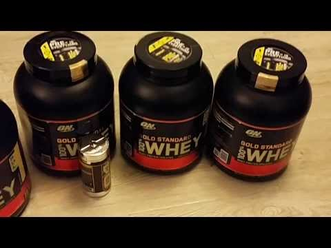 Заказ спортивного питания с Bodybuilding.com / Распаковка посылки
