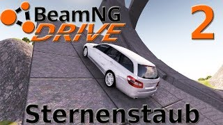 """[STUNTMAP: LEARN TO FLY] """"Sternenstaub"""" - BeamNG.drive #002"""