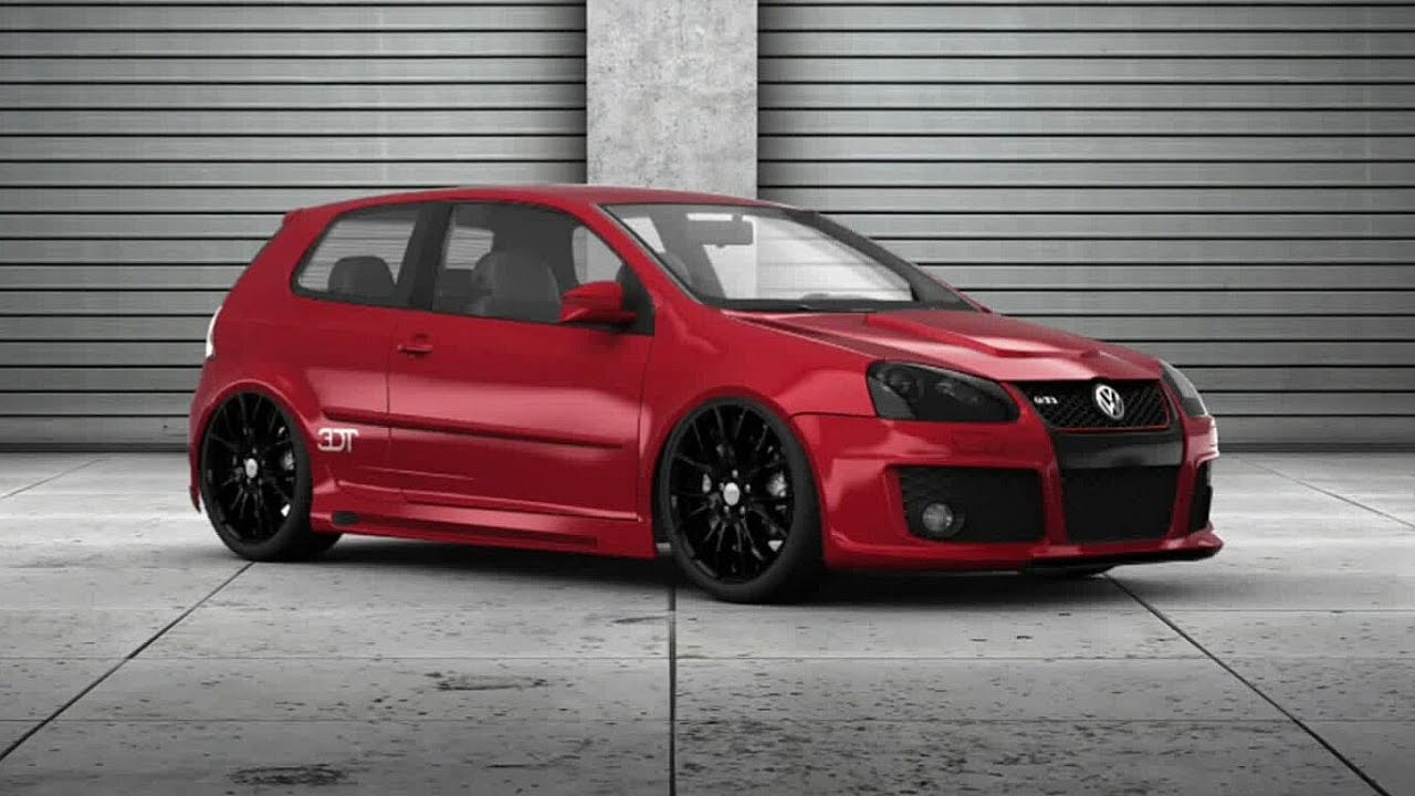 golf 5 gti 3d tuning hd youtube