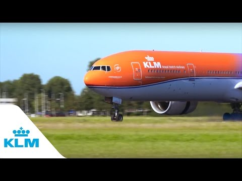 KLM - That was a flight we'll never forget…