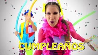 CUMPLEAÑOS FELIZ  CANCIONES EDUCATIVAS para niños LOS FLIXERS  MUNDO FLIX (oficial)