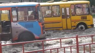 Потоп на ул. Барикад часть 3