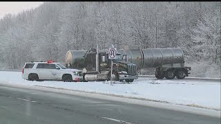 All lanes open on Route 11 in Gustavus Twp. following semi accident