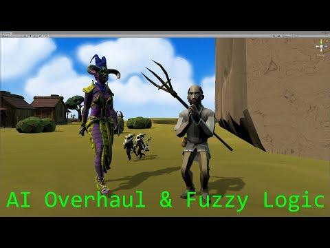 Advanced Unity AI Tutorial - Fuzzy Logic - Bad Guy Inc Game Devlog