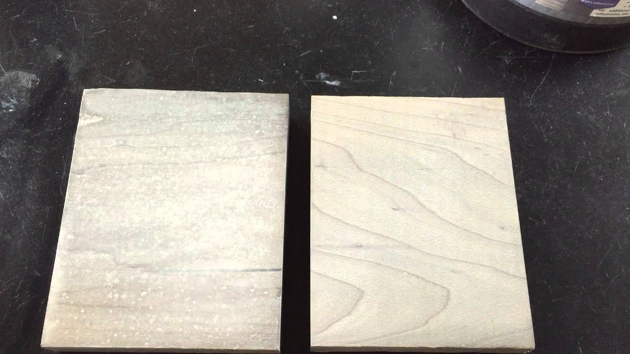 Drift Wood Look Stained With Weatherwood On Hard Maple Top