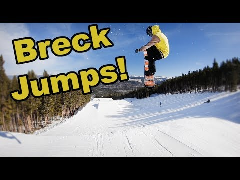 Our First Day on Snowboard Jumps - (Season 4, Day 30)