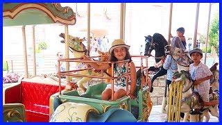 İstanbul Vialand Eğlence Merkezi Vialand da Tren Keyfi | Eğlenceli Çocuk Videosu