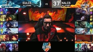 Bjergsen vs xPeke - NALCS vs EULCS - ALL STAR 2016