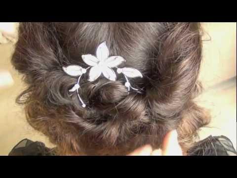 Downton Abbey hair tutorial --Lady Sybil.mov