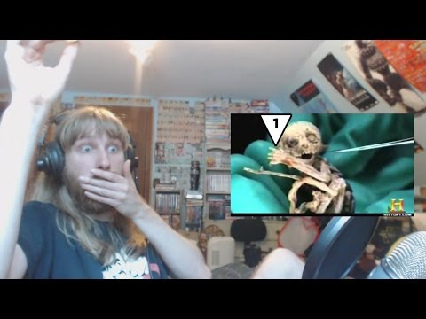 Ryan Reacts to Top 15 STRANGEST Unidentified Creatures Ever Found