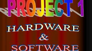 PARTS OF COMPUTER - HARDWARE & SOFTWARE