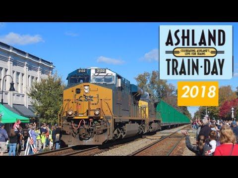 Ashland Train Day 2018: 23 TRAIN MARATHON!!!