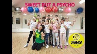 """Cover images AVA MAX - """"Sweet But a Psycho"""" Zumba Kids Choreography"""