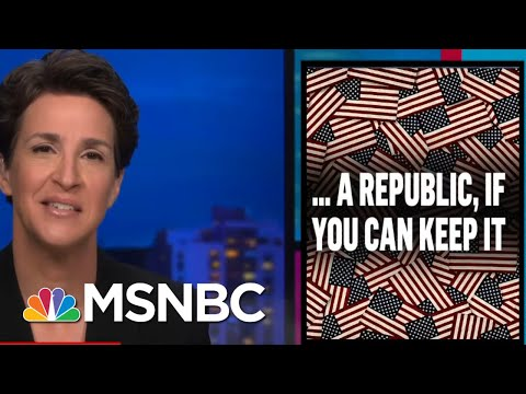 Republicans Indifferent To Unpopularity Of New Voter Suppression Agenda   Rachel Maddow   MSNBC