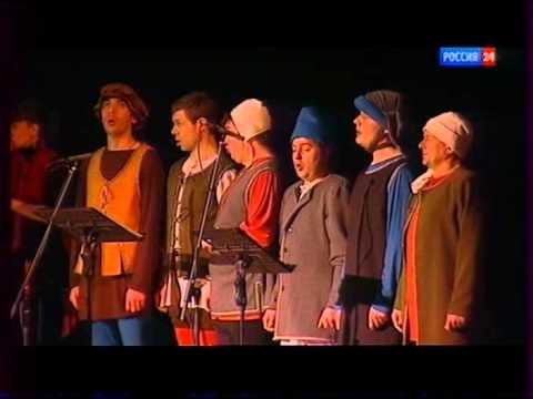 """Street Fiddlers + Маркелловы голоса """"Ночь перед рождеством"""" 1/8"""