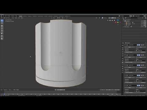 Ramapo College | Blender 2.8 Boolean Collections Plugin