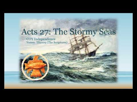 Acts 27: The Stormy Seas by Pastor Isaac Williams -01/13/18-