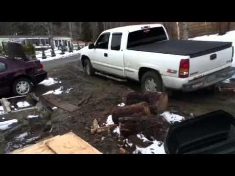 Sendin the jeep to a junkyard