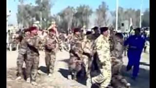 Repeat youtube video فضيحة جيش نوري المالكي شاهد كيف  يرقص مع النساء كانه ملهى ليلي
