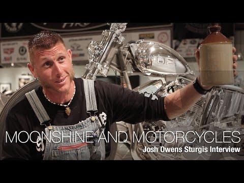 Moonshiners Josh Owens Sturgis Interview - MotoUSA