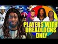 SPIN THE WHEEL OF PLAYERS WITH DREADLOCKS ONLY! Madden 19 Ultimate Team Squad Builder