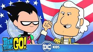 Teen Titans Go! En Español | George Washington No Puede Mentir | DC Kids