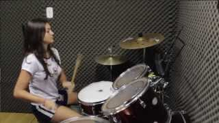 Back in Black - AC DC(Drum cover) Iris Manz