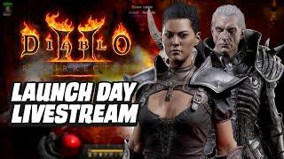 Diablo 2 Resurrection Launch Day Livestream