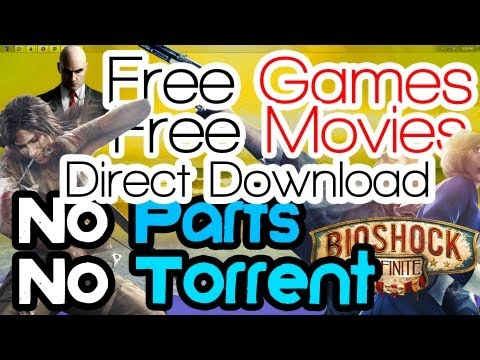 Direct Download Full Free PC Games | Movies | TV Shows | NO Torrents - NO Parts (Easy)