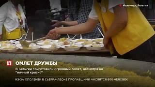 """В Бельгии приготовили огромный омлет, несмотря на """"яичный кризис"""""""