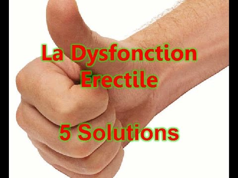 la dysfonction erectile 5 solutions dysfonction rectile impuissance youtube. Black Bedroom Furniture Sets. Home Design Ideas