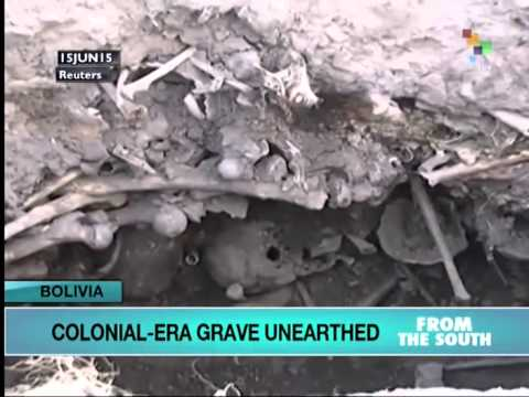 Bolivia: Grave Unearthed from Colonial Times