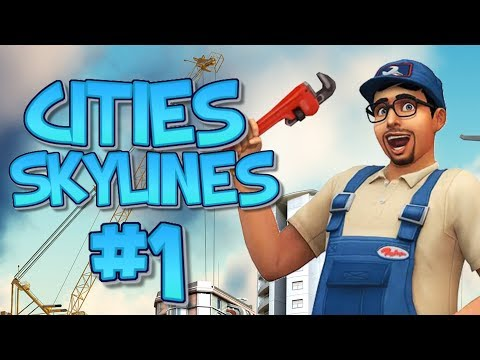 Let's Play Cities Skylines - Simmer City! #1