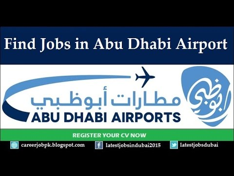 How To Find Jobs in Abu Dhabi Airport 2019